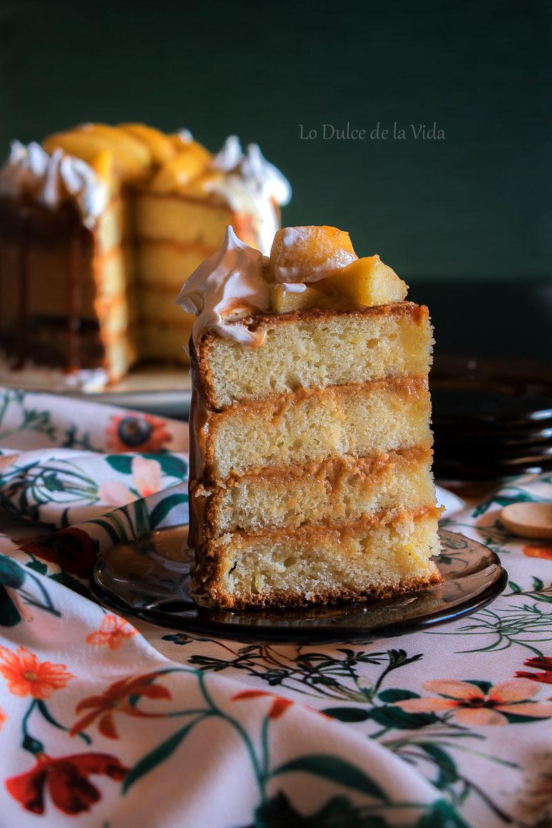 receta manzana rallada con merengue
